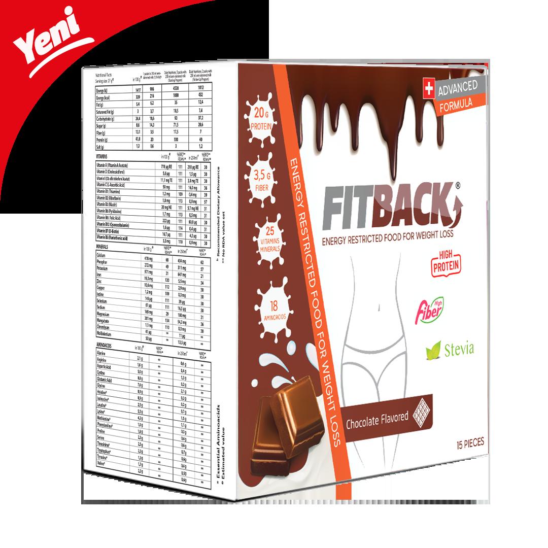 FİTBACK | Çikolata Aromalı (15 Öğün)