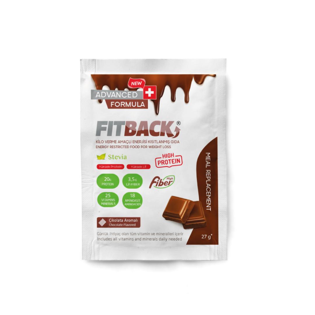 FİTBACK | Çikolata Aromalı (Saşe)