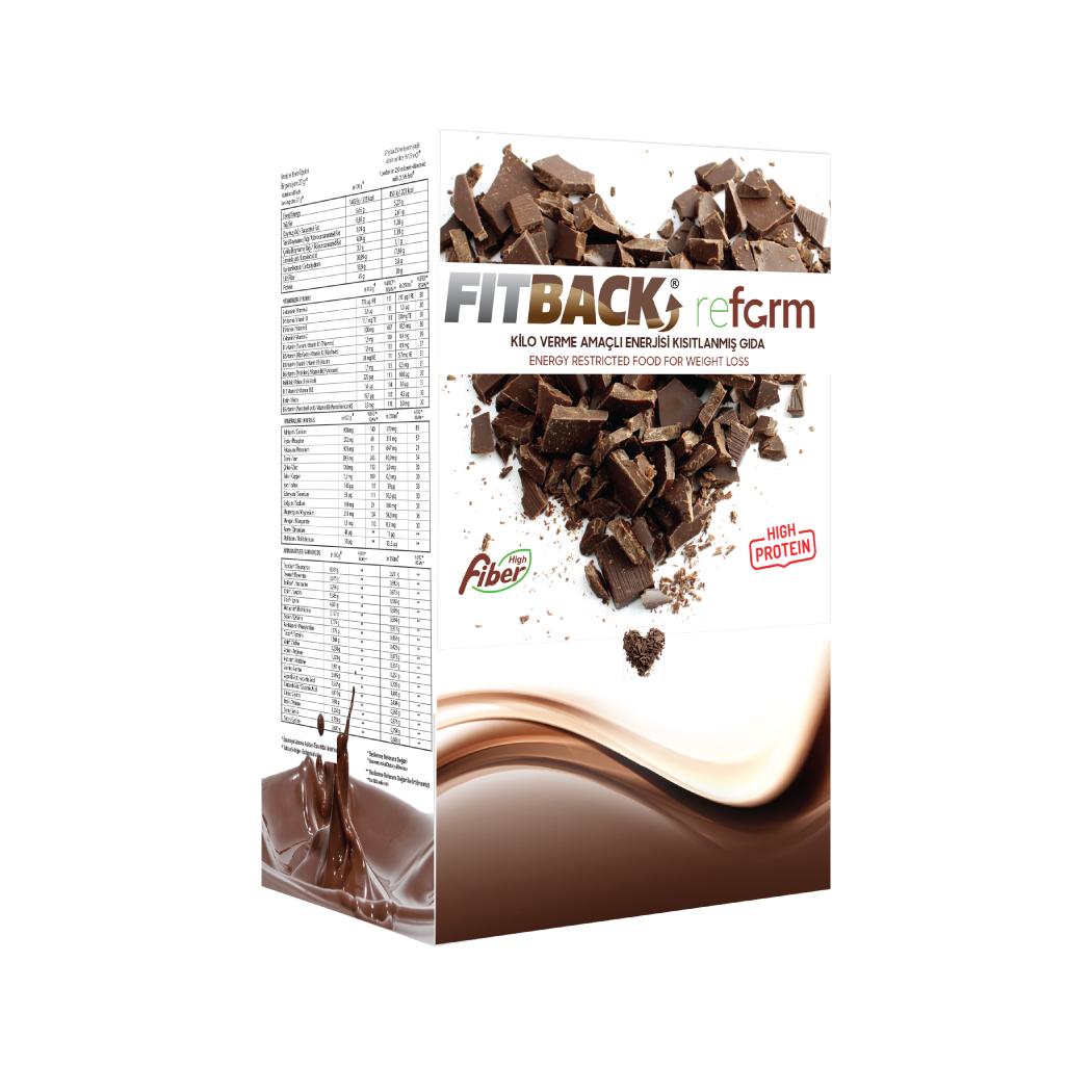 FITBACK REFORM | Çikolata Aromalı (30 Öğün)