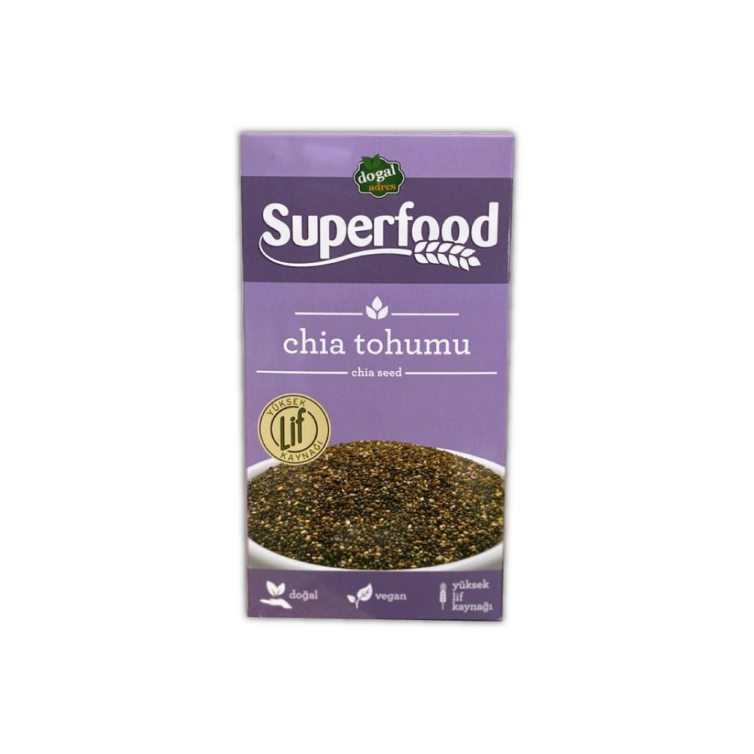 DoğalAdres Superfood | Chia Tohumu (250 GR)