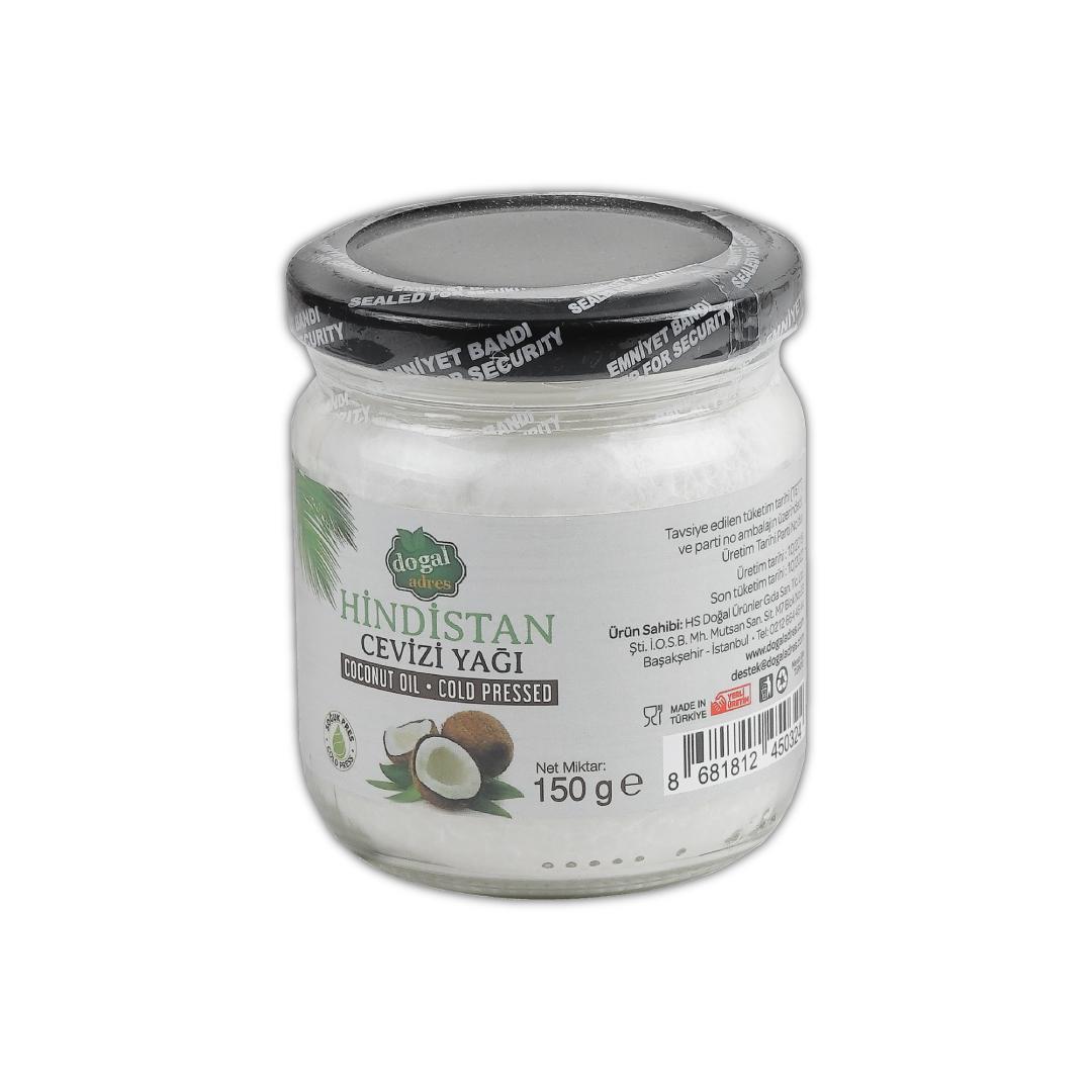 DoğalAdres | Coconut Oil - Hindistan Cevizi Yağı (150 GR)